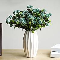 Fiori artificiali Rose vasi di ceramica soggiorno