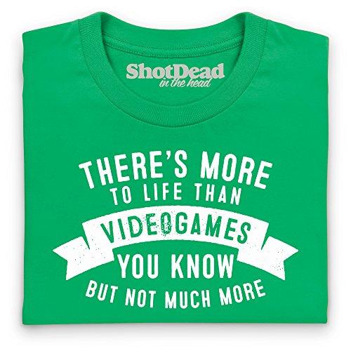 More To Life - Videogames T-Shirt, Damen Keltisch-Grn