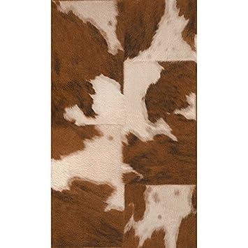 Rasch Cow Skin Pattern Faux Effect Animal Fur Print Textured Wallpaper  (Brown White 473902): Amazon.co.uk: Kitchen U0026 Home