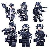 BOROK Mini Figuren Set Armee Minifiguren Soldaten SWAT Bausteine Spielzeug Minifiguren Toys