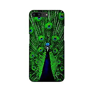 OnePlus 5 Peacock Cases and Covers by Abaci