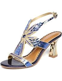 De Y Pedreria Amazon Complementos Zapatos Sandalias es E7XwX4xqR1