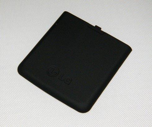 Original LG Akkudeckel für KP500, KP501, KP502 Black schwarz, Rückschale, Backcover, Ersatzteil