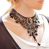Hosaire 15 Diferentes Estilos Gargantilla Choker Collares De estilo europeo Elástico Terciopelo Classic Adhesivo de Gótico Encaje Gargantilla Collares