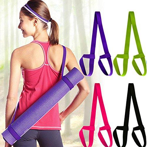 Mattengurt Yogamattengurte Yoga Matte gurt Straps mit Yoga Straps Übung Matte Straps Seil Zwei-Wege-elastisch