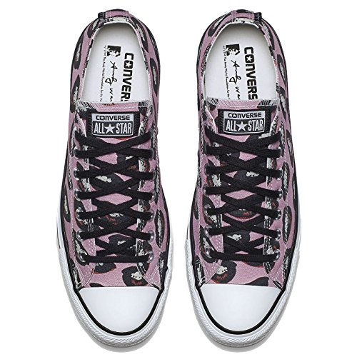 Converse 153843 Chuck Taylor All Star Unisex Sneaker (White/Pink) Pink