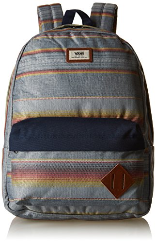 Vans Old Skool Ii Backpack Zaino, 42 Cm, 22 L, Blu Mirage Rock Away Stripe