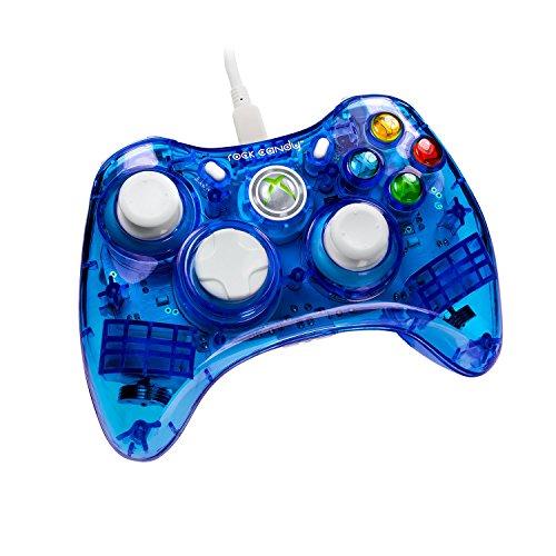 Candy Rock Controller 360 Xbox (X360 Controller Rock Candy - blau)
