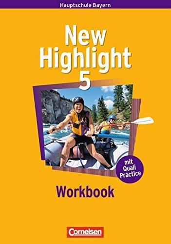 New Highlight 5: 9. Jahrgangsstufe. Workbook.,