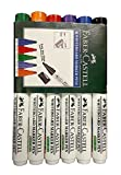 #6: Faber Castell 6 Different Col. Whiteboard Marker Set (Pack Of 2 Set)