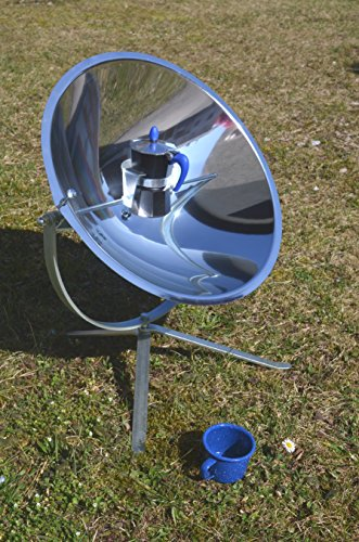 Solarkocher CafeSol Kaffee Solar Kochen Lampe Dekoleuchte Outdoor