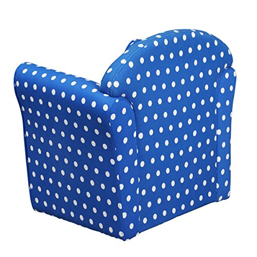 1home Kids Childrens with White Stars Fabric Tub Chair Armchair ...