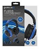 Gioteck - Auricular Flow 200 Stereo, Color Azul