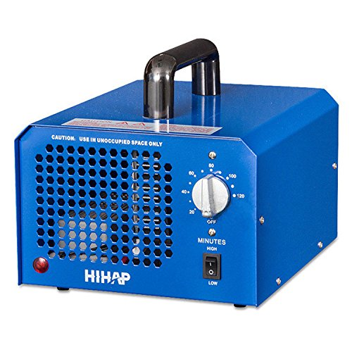 Eleoption 7.0G Commercial Ozone Generator Machines Industrial O3 Air Purifier Disinfection Deodorizer Sterilizer machine (Blue)