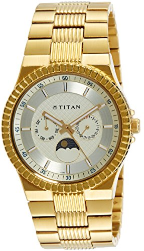 Titan Regalia Analog Silver Dial Men's Watch - NE1532YM01
