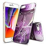 iPhone 6S Plus Coque,UZUMAKI NARUTO Thème - HOKOOLDH Doux TPU cristal clair mince...
