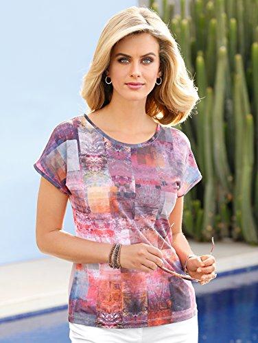 Damen Shirt in modischer Form by MONA beere-multicolor