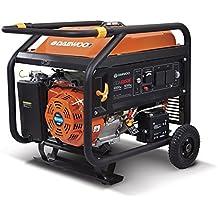 Daewoo GDA7500E - Generador eléctrico a gasolina de 420 cc, 6500 W, 240 V con arranque eléctrico