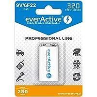 AKUMULATOREK everActive 6F22/9V 320mAh Professional Line Ni-MH