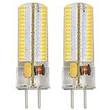 MENGS® 2 Stück GY6.35 6W LED Lampe 120x3014 SMD Warmweiß 3000K AC/DC 12V Mit Silikon Mantel