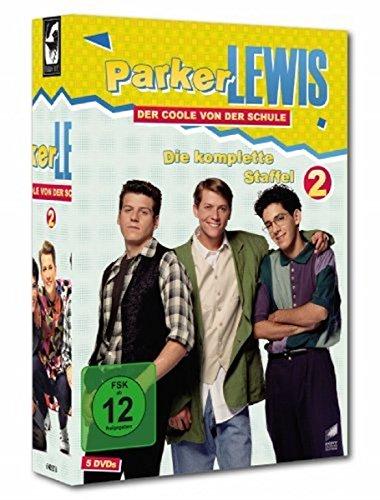 Parker Lewis - Der Coole von der Schule: Die komplette Staffel 2 (5 Discs)