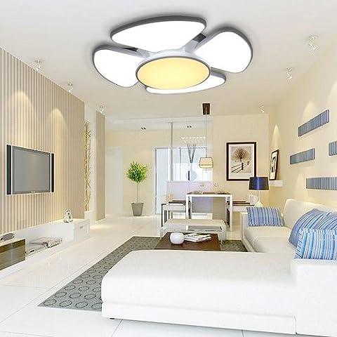 VINGO® 90W LED Deckenleuchte Rund Wohnzimmer Deckenbeleuchtung Leuchte Energiespar Deckenlampe