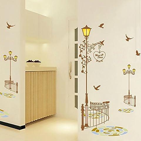 Sfondo creativo camera da letto soggiorno wall