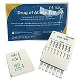 4 x Drogenschnelltest Multiscreen 7 - Bestimmung von 7 Drogenarten mit einem Test! - Alle Produkte sind CE gekennzeichnet