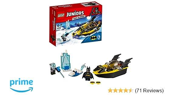 DC Comics LEGO 10737 Juniors Batman Vs Mr Freeze Superhero Toy Amazoncouk Toys Games