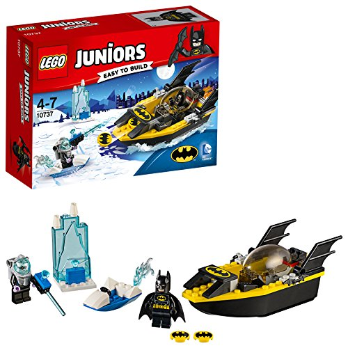 DC Comics LEGO 10737 Juniors Batman Vs. Mr. Freeze Superhero Toy