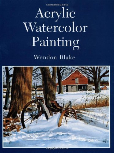 Acrylic Watercolor Painting PDF Books
