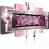 murando - Bilder 100x50 cm Vlies Leinwandbild 5 TLG Kunstdruck modern Wandbilder XXL Wanddekoration Design Wand Bild - Abstrakt 020101-215
