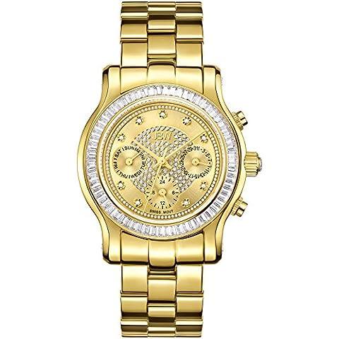 JBW Reloj con movimiento cuarzo suizo Woman 38 mm