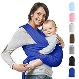 Babytragetuch Neugeborene Elastisches Tragetuch Baby Ring Sling Baby Wrap Sling für Neugeborene und Kleinkinder 100% Baumwolle Ohne Künstliches Elastan