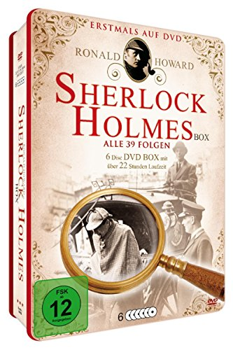 Sherlock Holmes - Deluxe Metallbox Edition [6 DVDs] (Mehrere Pistole Fall)