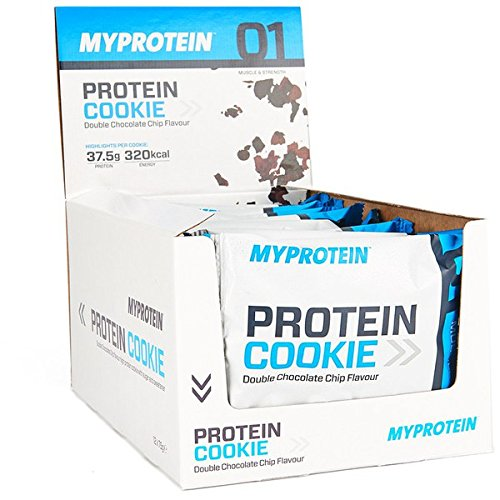 My Protein Protein Cookies 12x75g Cookies & Cream - erstklassige Alternative zu...