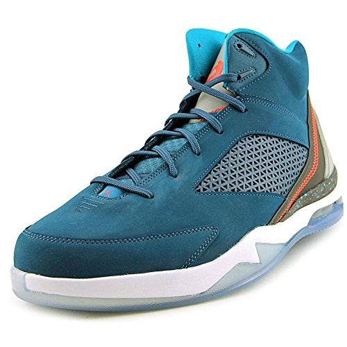 Nike Air Jordan Flight Remix Sneaker Basketballschuhe blau/schwarz/weiß, Schuhgröße:EUR 42 (Jordan Flight Air Nike)
