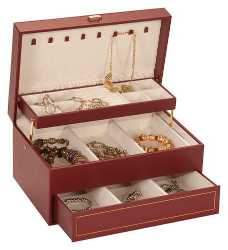 burgundy-bonded-leather-jewellery-box-case-autotray-by-mele-co-dawn-