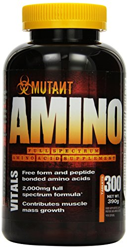 Mutant Amino - 300 Tablette, 1er Pack (1 x 390 g)