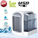 PZJ Coolair Climatiseur Portable USB Muitifonction 3 en 1 Rafraichisseur d'air...