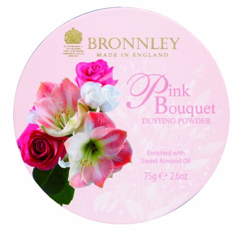 Bronnley Pink Bouquet Dusting Powder 75g