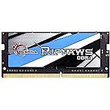 G.Skill Ripjaws módulo de - Memoria (8 GB, 1 x 8 GB, DDR4, 2133 MHz, 260-pin SO-DIMM, Negro, Azul, Oro, Gris, Blanco)