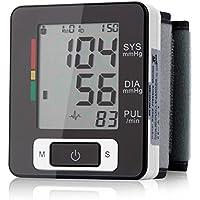 Muñeca Tensiómetro, elegiant Digital LCD Tensiómetro Tensiómetro de medir – Tensiómetro Tensiómetro muñeca mano Tensiómetro