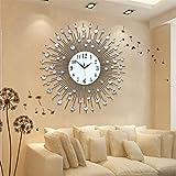 ZHUNSHI Personalità europea di tutto il soggiorno orologio arti rologi da parete del grande orologio da parete a parete moderni decori grafici,20 pollici,75 cm