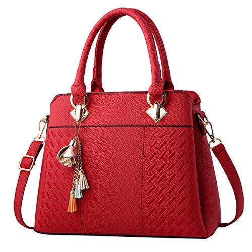 Damen Tasche Freizeit Handtaschen Schultertasche Messenger Bag Mehrfarbig Optional,8-OneSize Laidaye