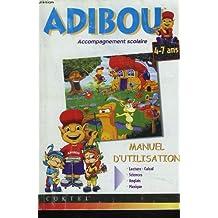 ADIBOU, ACCOMPAGNEMENT SCOLAIRE, MANUEL D'UTILISATION