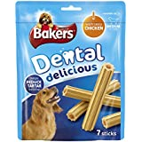 Bakers Dental Medium Dog Food Delicious Chicken, 200 g - Pack of 6