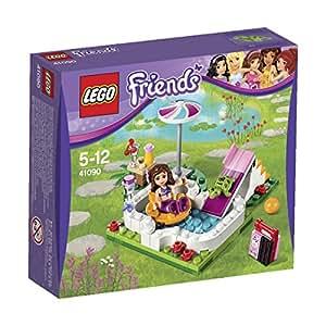 Lego friends 41090 olivia 39 s gartenpool spielzeug for Gartenpool neuheiten