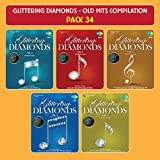 #6: Glittering Diamonds - Old Hits Compilation - Pack 34 ( Compilation Of Greatest Songs From Old Hindi Movies, Set Of 5 MP3 With 200 Tracks)