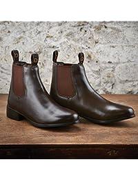 Dublin Teint Boots d'équitation Bottes–Marron